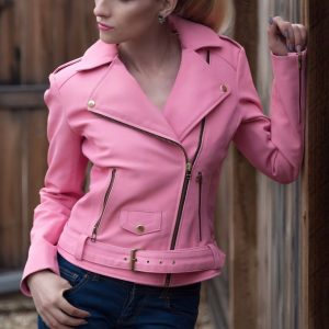 barbie jacket Leather