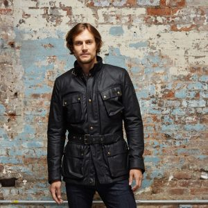 Mens Belstaff Roadmaster Leather Jacket
