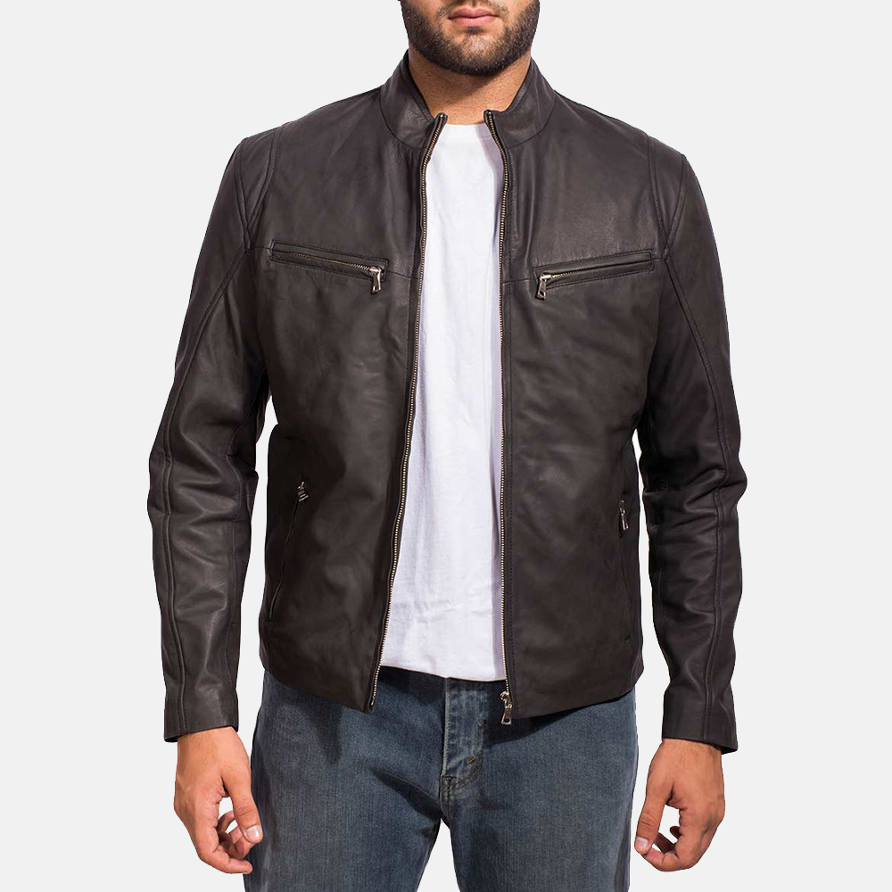 difetto Ritorno Nave da guerra  Mens Black Real Leather Jacket Iconic & Stylish - IBI Leather