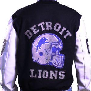 Mens Detroit Lions Hills Cop Jacket