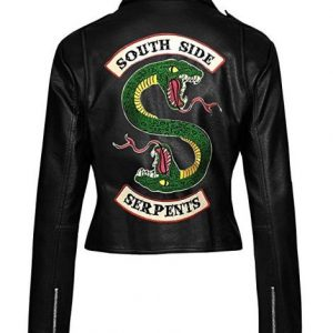 Womens Serpents Leather Jacket Riverdale