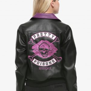 pretty poisons leather jacket