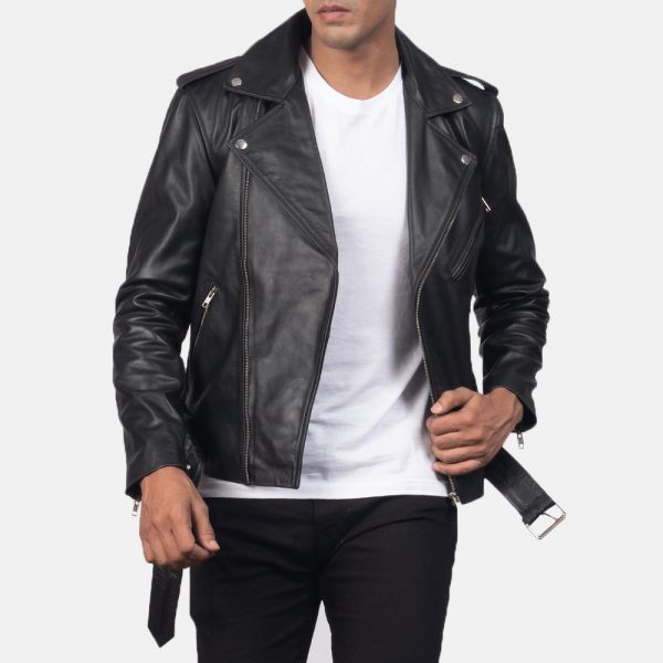 real leather motorcycle jacket for mens