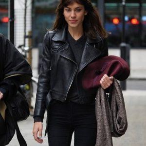 Alexa Chung Leather Jacket