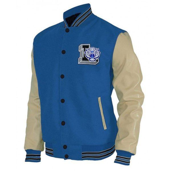 Justin Foley varsity jacket