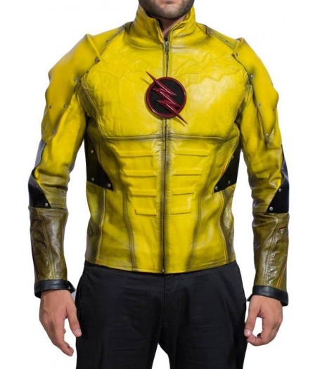 Reverse Flash Jacket Leather