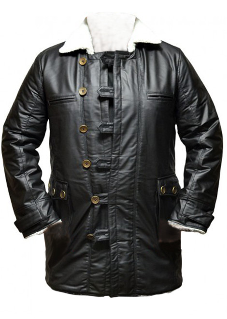 bane jacket black coat real leather sale