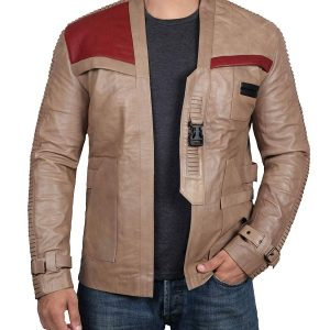 finn leather jacket star wars