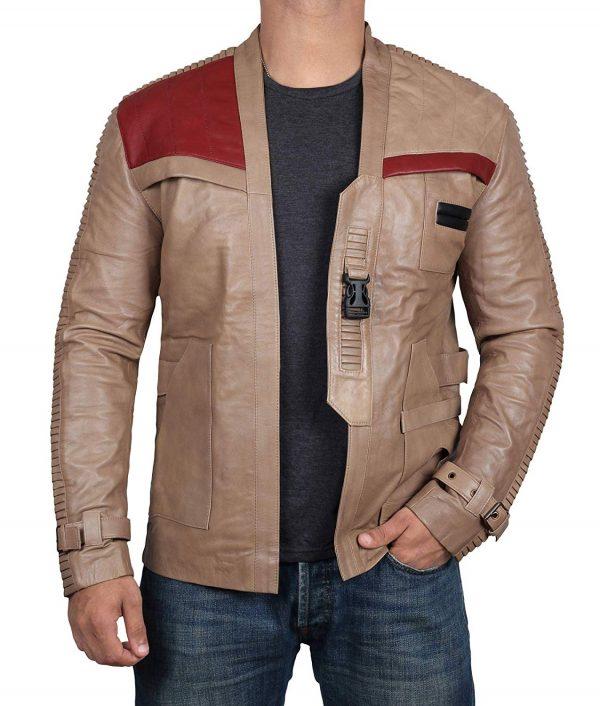 finn leather jacket star wars