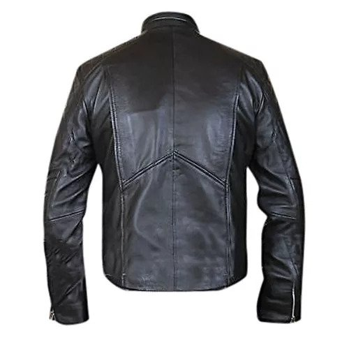 mens punisher leather jacket