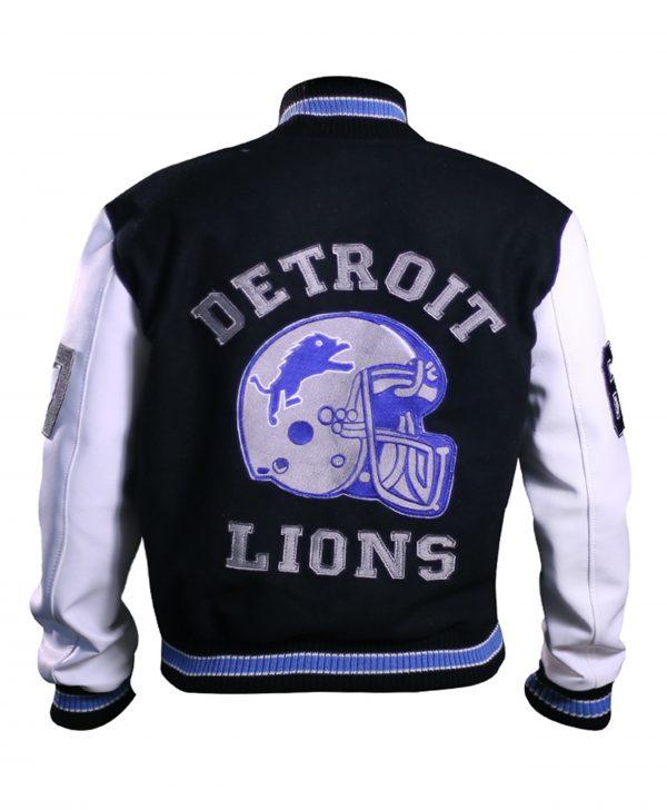 Detroit Lions Varsity Jacket Beverly Hills Cop