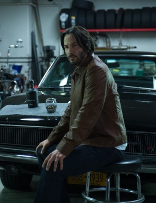 Keanu Reeves John Wick Leather Jacket