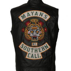 mayans M.C leather vest