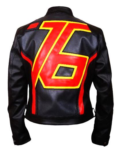 black soldier 76 leather jacket