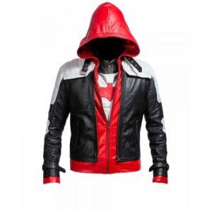 Arkham Knight Leather Jacket